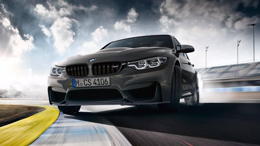 BMW M3 CS daha fazla güç, daha az ağırlık ile geldi