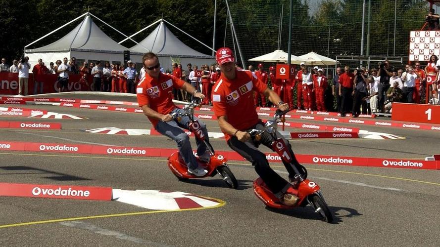 Barrichello threatened with sack by Ferrari at Austria '02