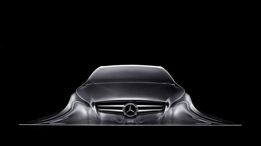 Mercedes-Benz Rising Car Sculpture Teases New CLS-Class, New Design Language? [Video]