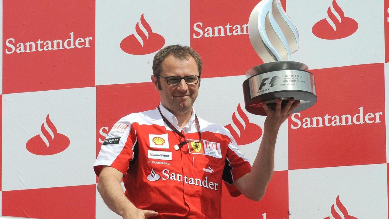 Stefano Domenicali (ITA) Ferrari General Director - Formula 1 World Championship, Rd 14, Italian Grand Prix, Sunday Podium, 12.09.2010 Monza, Italy