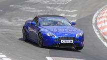 2011 Aston Martin Vantage Roadster facelift spy photo, Nurburgring, Germany, 21.04.2010