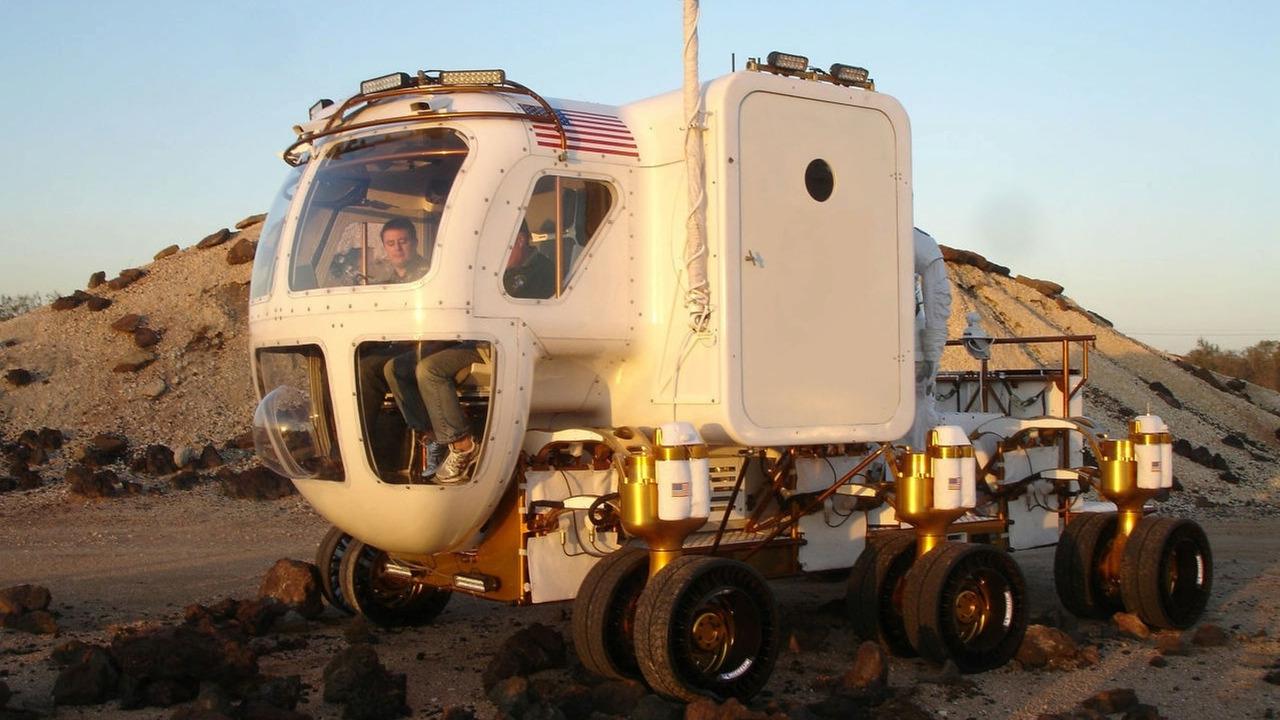 NASA Lunar Rover with Michelin TWEEL