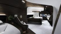 Lufthansa Technik interior by Mercedes-Benz Style