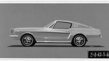 1964 1/2 Ford Mustang III Shorty factory prototype