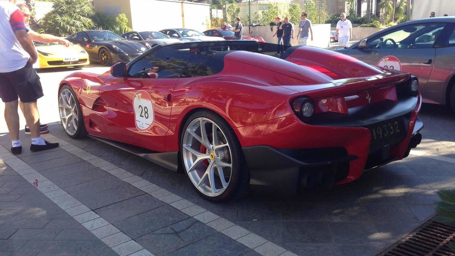 Ferrari F12 TRS spotted once again ahead of this weekend's official reveal