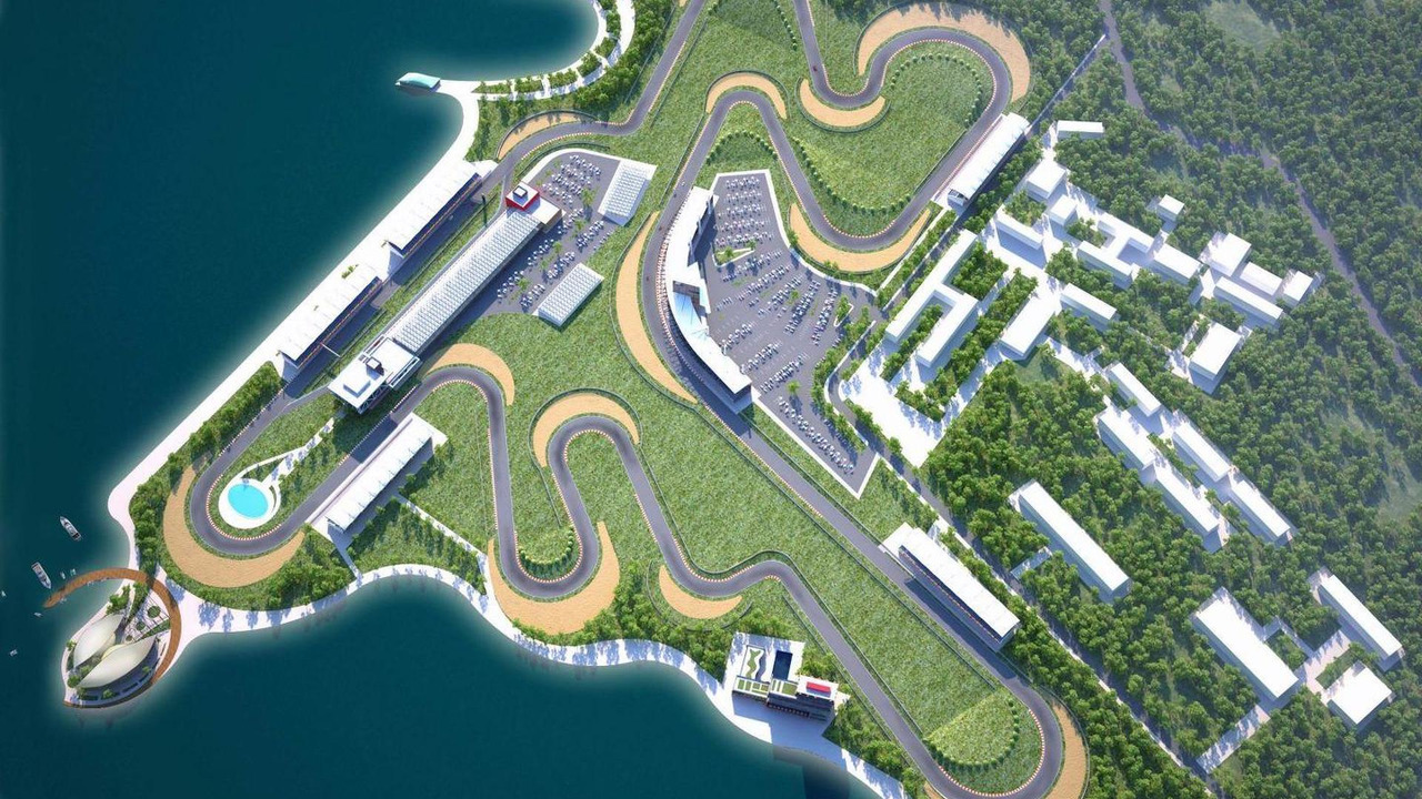 Baku Grand Prix conceptual project / today.az