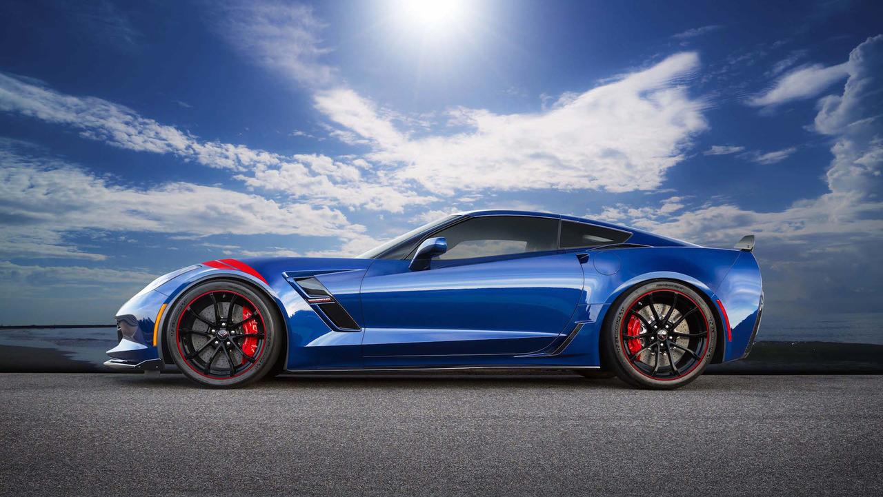Chevy Corvette Grand Sport Admiral Blue Heritage Edition