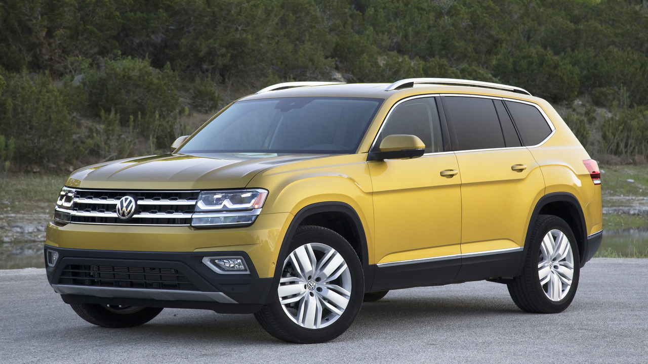 2018 volkswagen atlas second drive the all american cuv. Black Bedroom Furniture Sets. Home Design Ideas