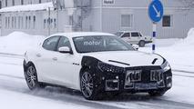 2018 Maserati Ghibli Spy Photos In Germany