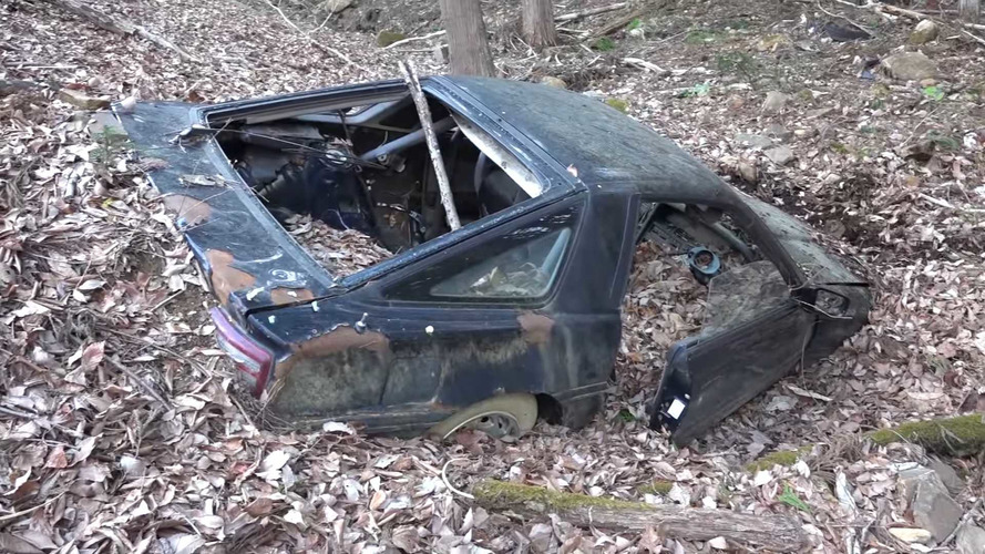 The Legend Of The Unrecoverable Supra In The Mountains Of Japan