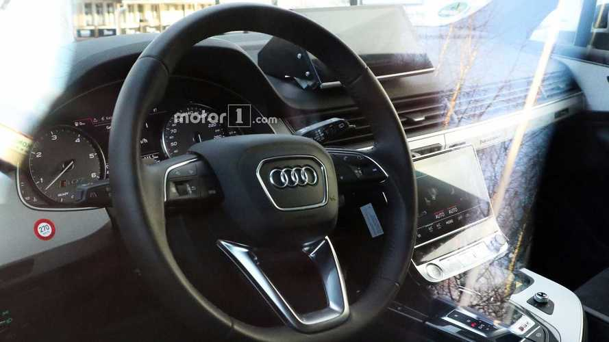 L'Audi Q8 laisse entrevoir son habitacle