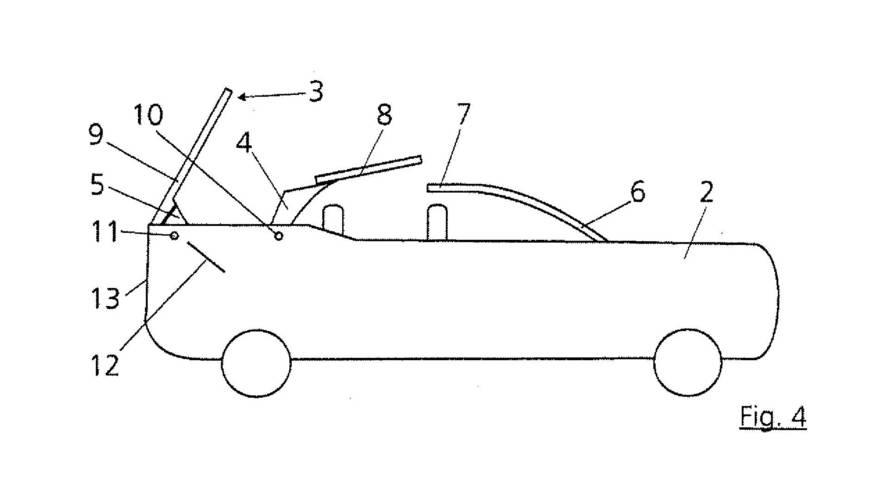 Audi Convertible SUV Patenti