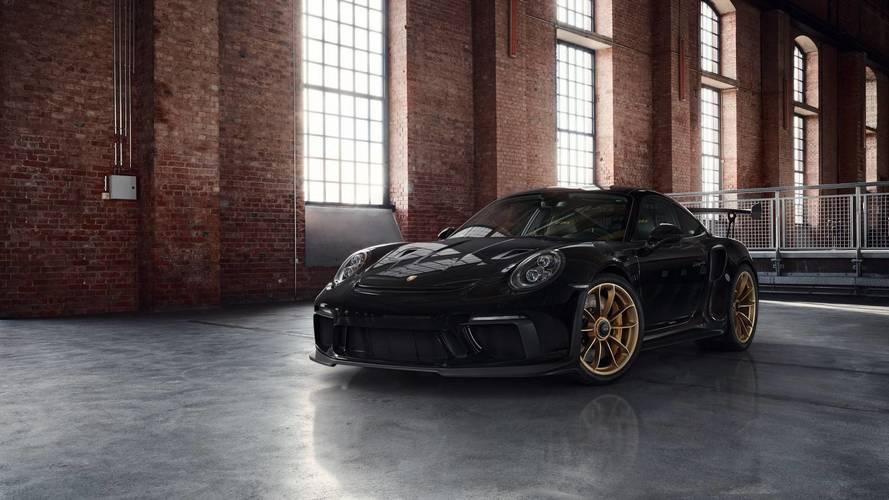 Luce tu Porsche 911 GT3 RS 2018 con estas magníficas llantas doradas