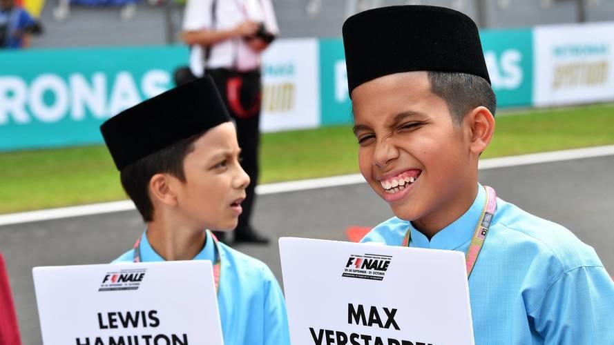 Officiel - La F1 remplace les grid girls par des enfants