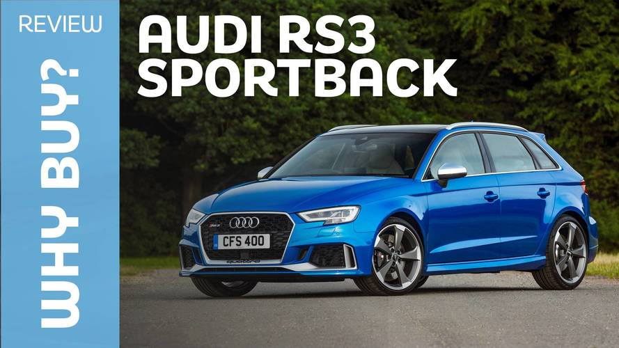 2017 Audi RS3 Sportback review: Power at a price