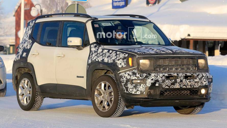 Jeep Renegade kamuflajını kaybetmeye devam ediyor