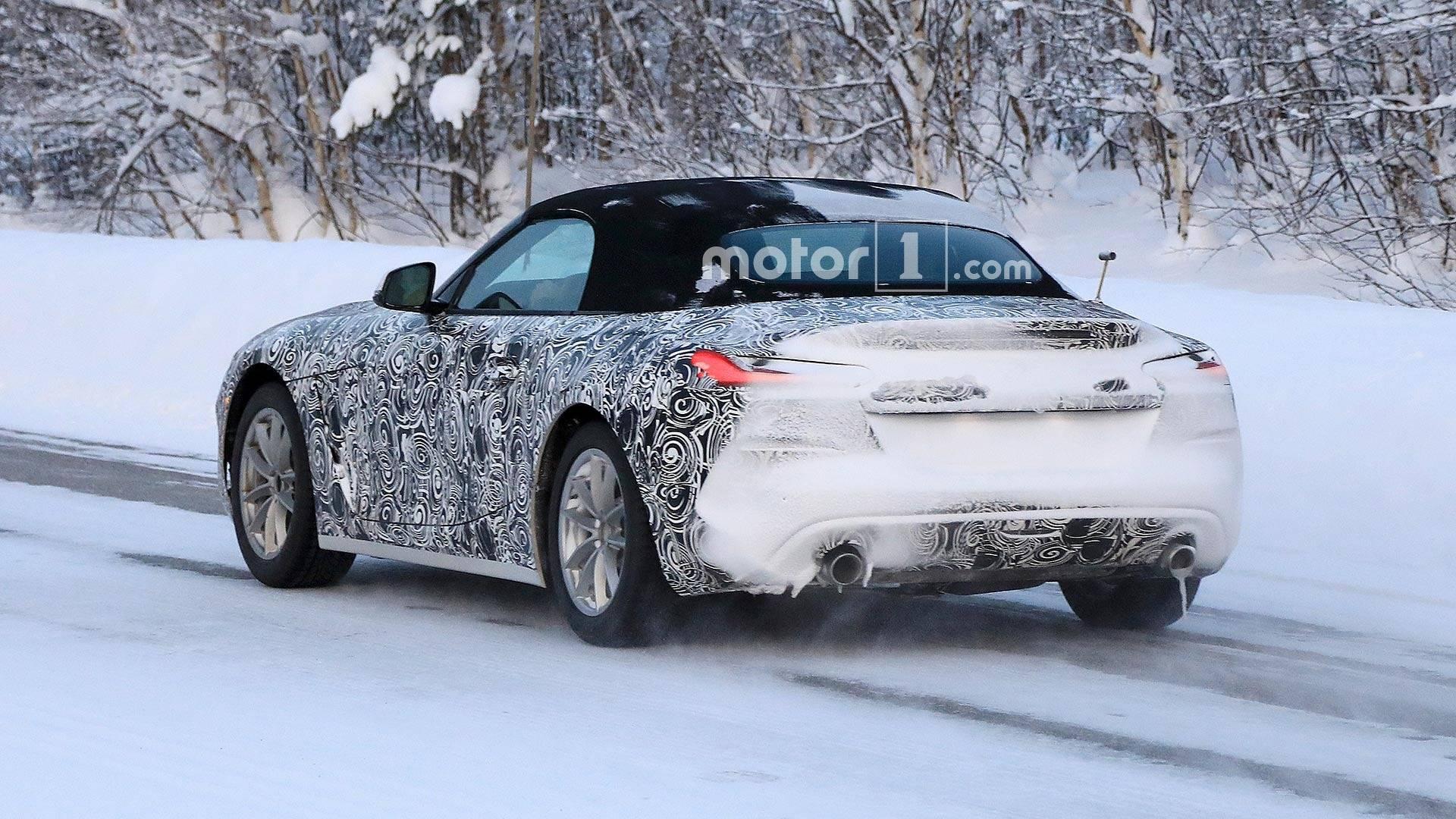 2018 - [BMW] Z4 (G29) - Page 5 Bmw-z4-snow-spy-shots