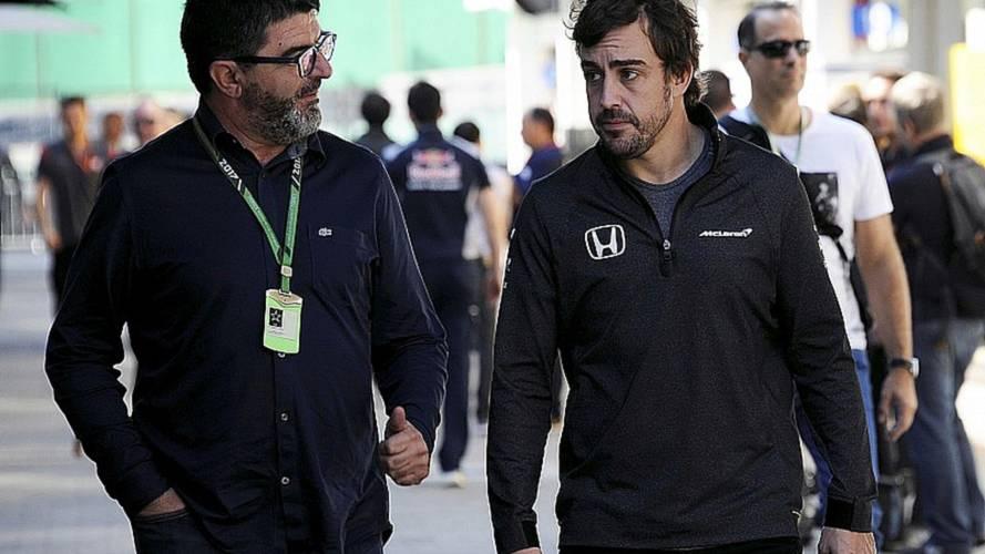 """""""No hay nada decidido"""" sobre el futuro de Alonso en la F1, dice su mánager"""