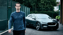 Jaguar I-Pace Andy Murray