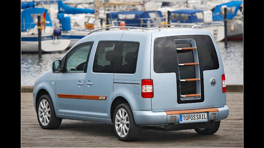 Nutz-Segler: VWs Studie Caddy Sail Design