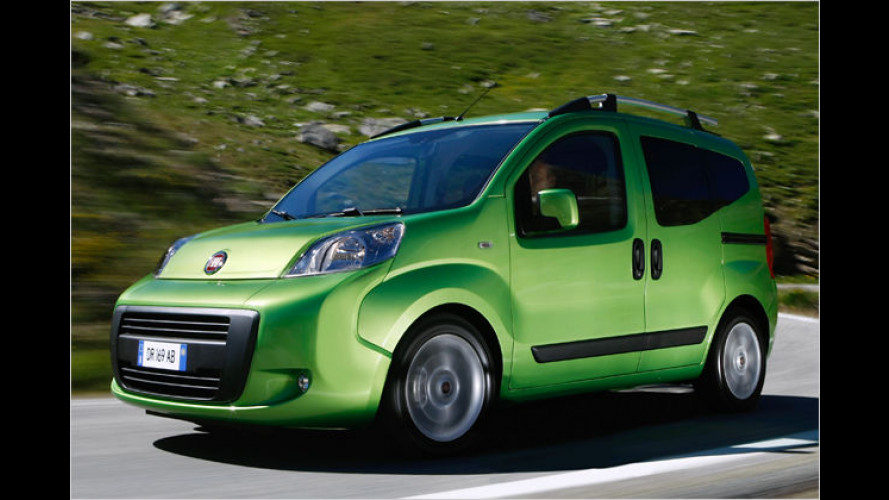 Fiat Qubo wird sauberer: Geringerer Verbrauch für den Diesel
