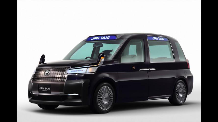 Ein Zukunfts-Taxi, ein Brennstoffzellenauto und weitere Neuheiten