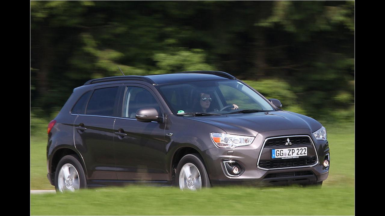 Mitsubishi ASX: 10.564 Neuzulassungen