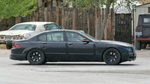 BMW New 7-Series riding low Spy Photos