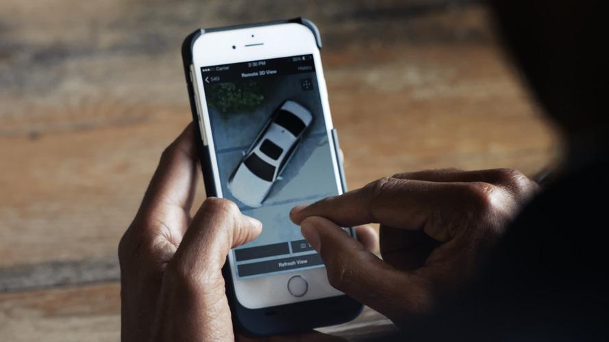 BMW Remote View - La future Série 5 permettra de surveiller à distance la voiture