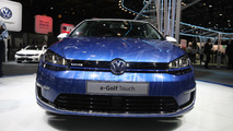 2016 Volkswagen e-Golf Touch Paris Motor Show