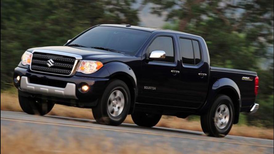 Suzuki non venderà più auto negli USA
