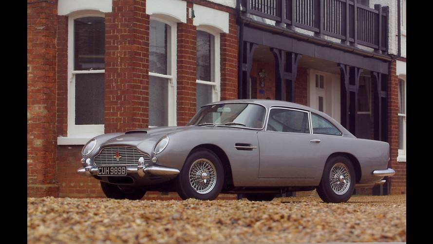 3 milioni di euro per la Aston Martin DB5 di 007