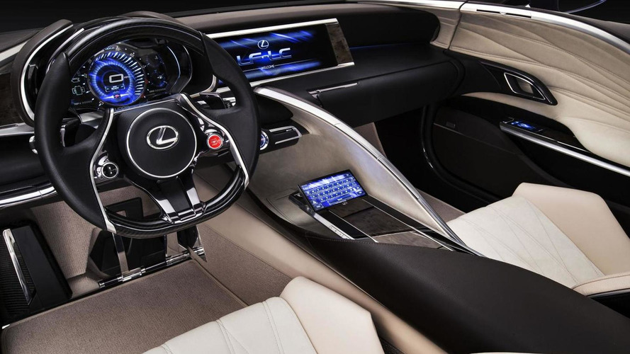 Lexus shows the LF-LC concept in blue at 2012 AIMS [video]