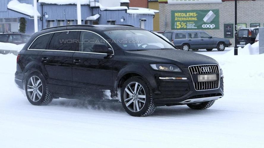 Next-gen Audi Q7 mule caught testing