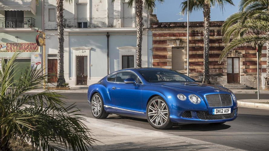 Full details about 2013 Bentley Continental GT Speed revealed