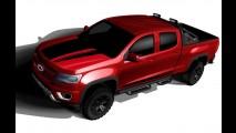 S10 gringa, Chevrolet Colorado ganha versão personalizada para o SEMA