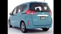 Esta é a nova Honda Freed, minivan baseada no Fit - veja fotos