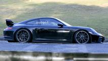 Makyajlı 2017 Porsche 911 GT3 casus fotoğrafları