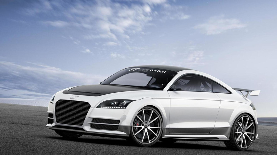 Audi TT ultra quattro concept arrives at Worthersee [video]