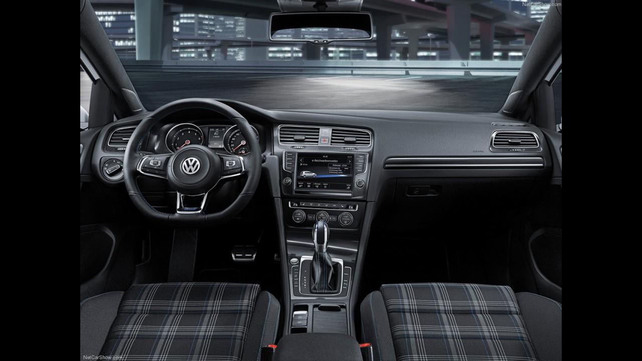 VW Golf GTE: plug-in híbrido que faz 66,75 km/litro estará em Genebra
