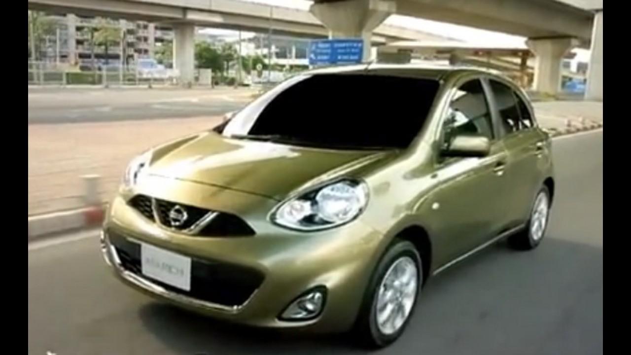 Vídeo: Novo Nissan March desfila em comercial na Tailândia