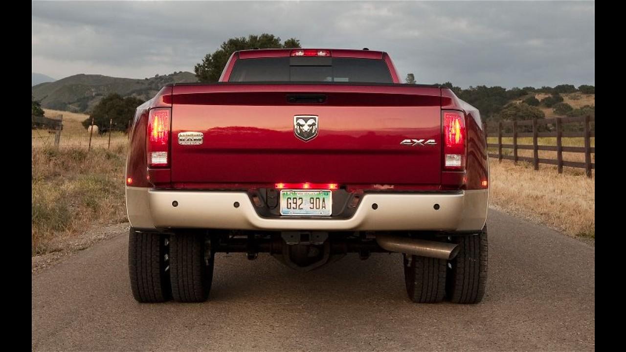 RAM 3500 Laramie Longhorn começa a ser vendida em agosto no Brasil por R$ 215.000
