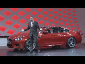2013 BMW M6 Coupe - premiere at the 2012 Geneva Motor Show