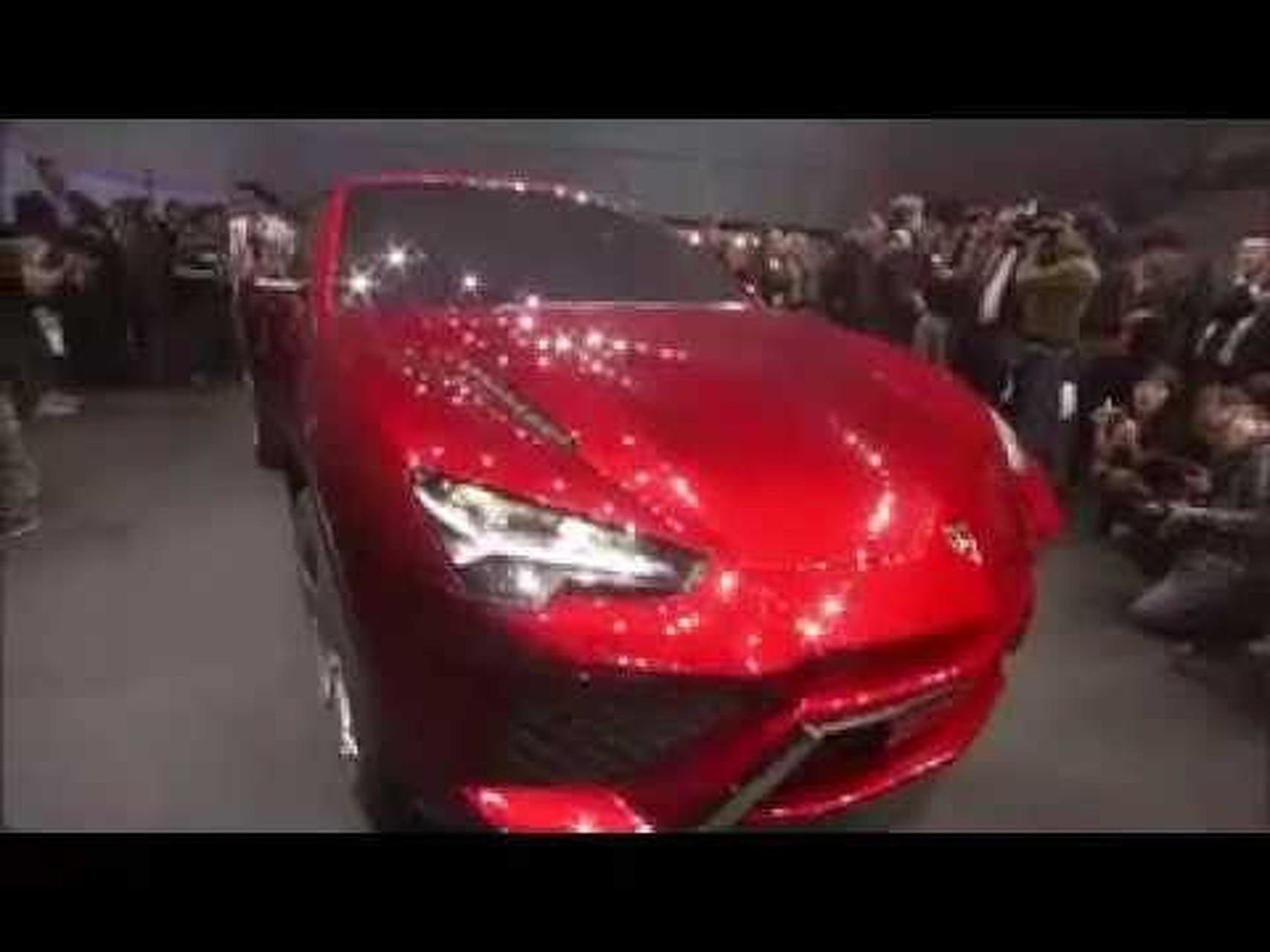 2012 Lamborghini Urus Concept General Views at the 2012 Beijing Motor Show