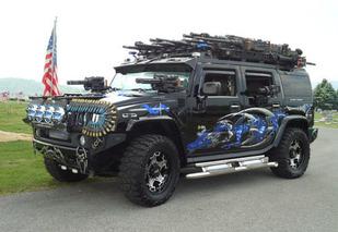 eBay WTF! of the week: Hummer H2 Black Knight
