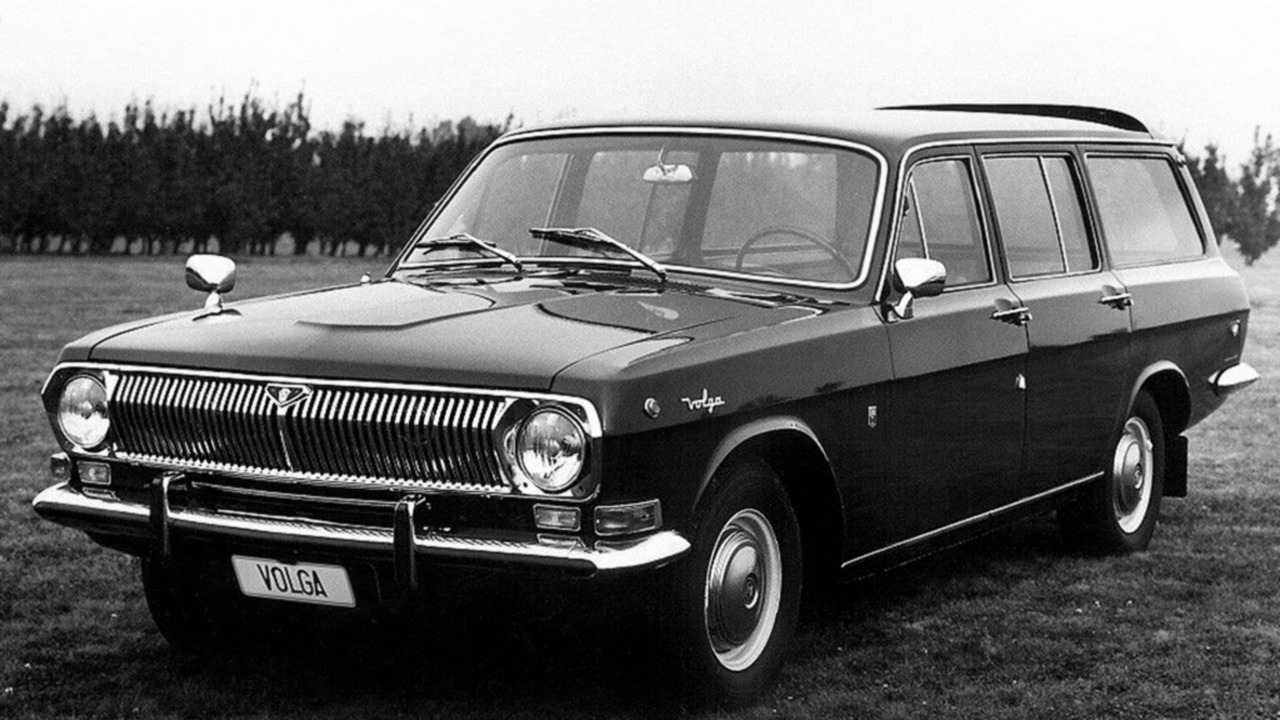 Soviet Cars Were Weird Volga Gaz 24