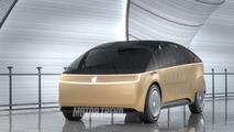 Apple Car rendering by Motor Trend
