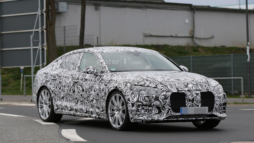 Audi S5 Sportback spied, should have 354 hp