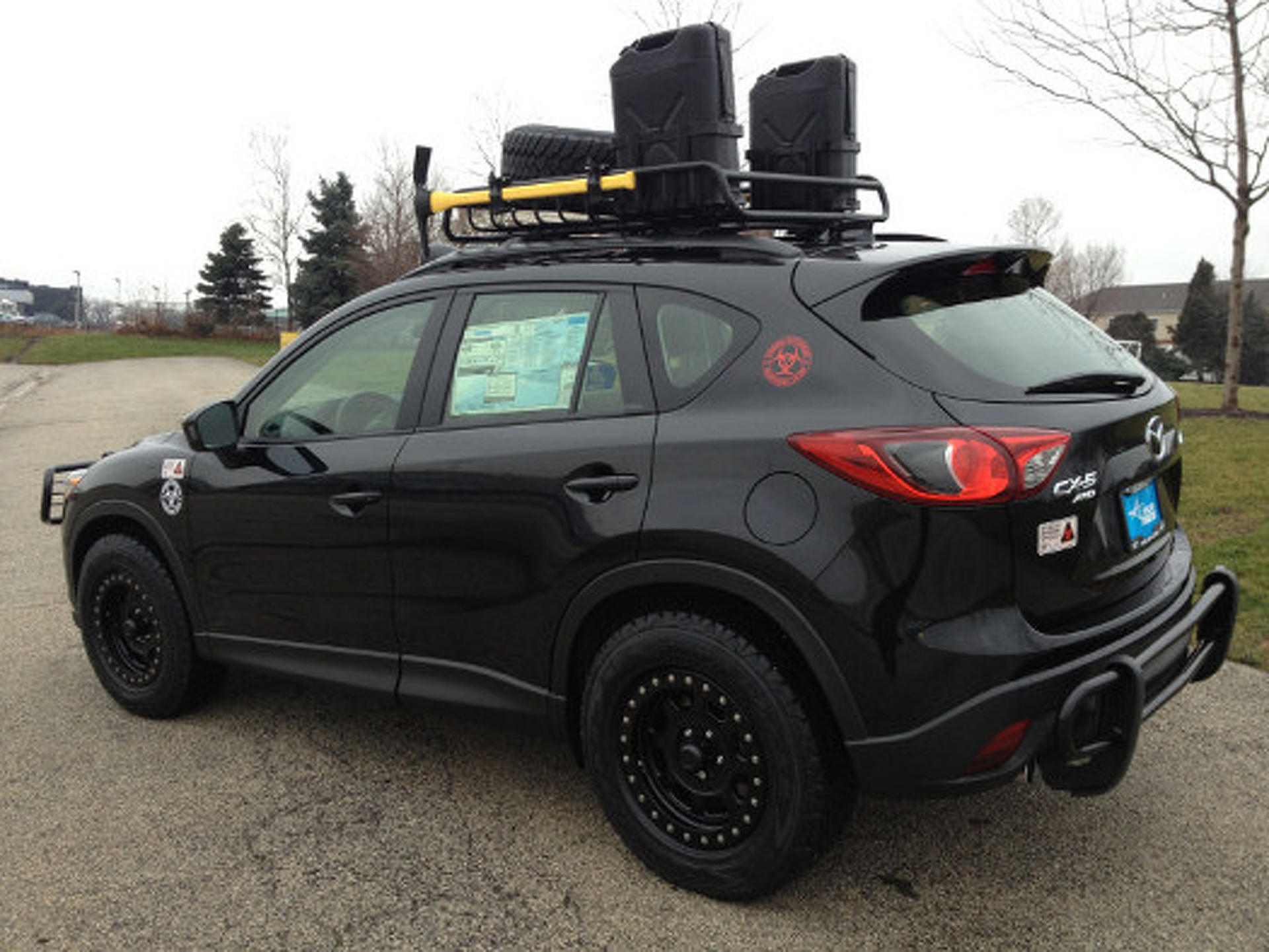 Cx 5 Roof Rack Cosmecol