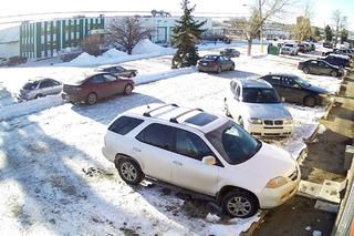 Watch World's Worst Driver Get Stuck in a Parking Lot